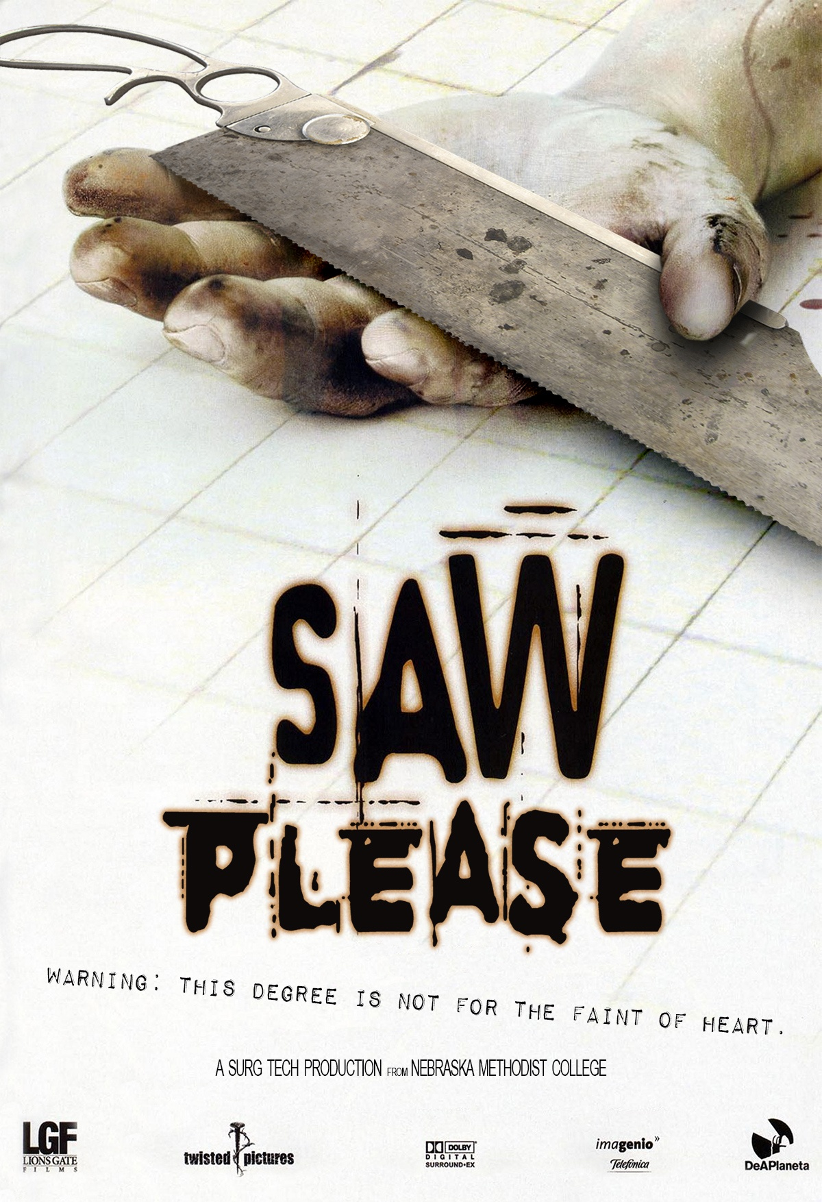 Saw Please