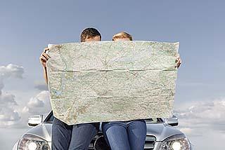 Travel Nurses Reading Map