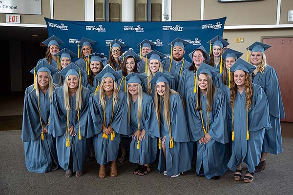 Image of the 2018 graduating class in radiologic technology