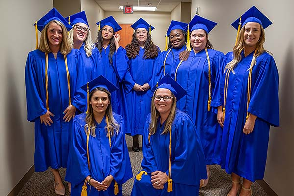 Image of the 2018 Medical Assistant graduating class