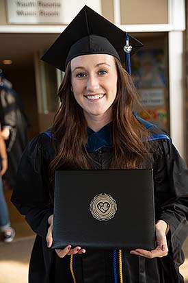 Image of a Master of Occupational Therapy graduate