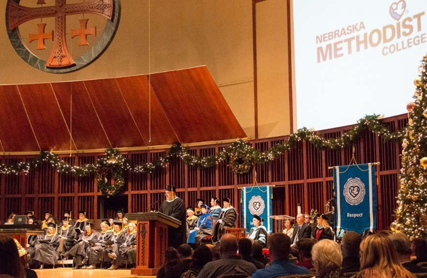 Nebraska Methodist College held its Fall 2017 Commencement Ceremony on Dec. 15.